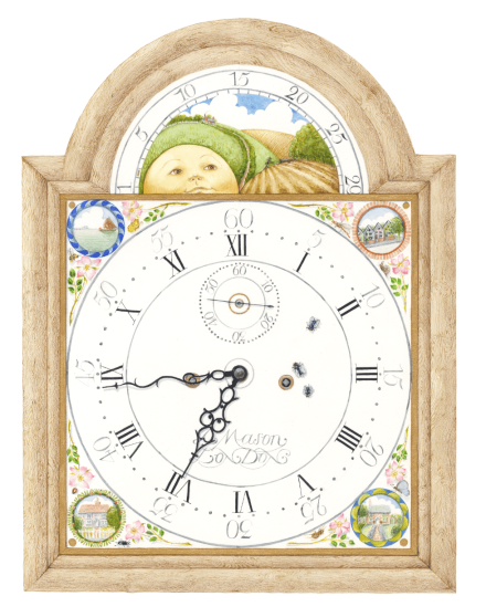 time-flies-mounted-standard-frame-mounted-outside-edge-50.8cm-x-40.6cm.png